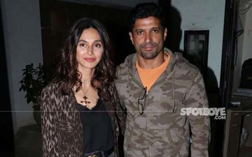 Shibani Dandekar Steps Out For An Intimate Dinner Date With Rumoured Hubby-To-Be Farhan Akhtar