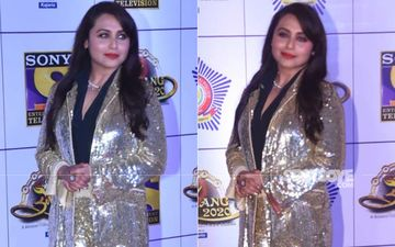 Umang 2020: Rani Mukerji Shines So Bright At The Red Carpet; We Need Glares To Shield Our Eyes