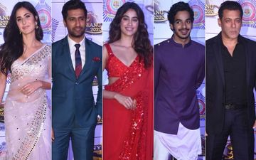Umang 2020: Rumoured Couples Katrina Kaif-Vicky Kaushal, Janhvi Kapoor-Ishaan Khatter Dazzle; Bigg Boss Salman Khan Arrives With A Bang