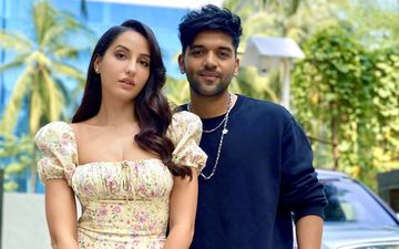 Guru Randhawa's New Track #NachMeriRani With Nora Fatehi, Promotion Pictures Are On Fire