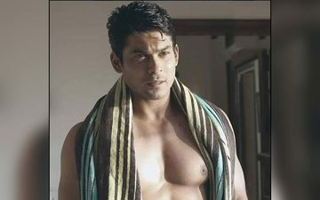 Bigg Boss 14: Sidharth Shukla's SHIRTLESS Pool Pictures Will Leave You Drooling; Actor Sets Temperature Soaring As He Flaunts His Washboard Abs