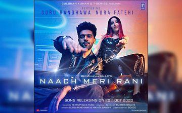 Guru Randhawa's Naach Meri Rani Song Teaser Out