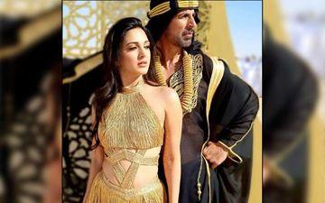 Akshay Kumar's Co-Star Kiara Advani Slays In A Deep Maroon Saree For Laxmmi Bomb Promotions: PICS HERE