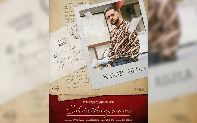 Chithiyaan By Karan Aujla Coming Soon; Poster Out