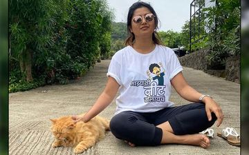 M-town Goes Gaga Over Pet Love, Catch Prajakta Mali And Sai Tamhankar Destressing With These Furry Friends