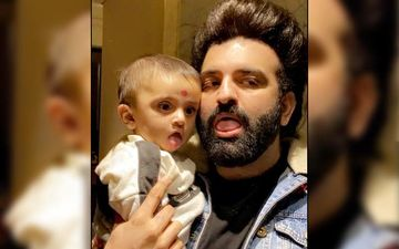 Navraj Hans Shares A Sweet Picture With His Nephew Hredaan