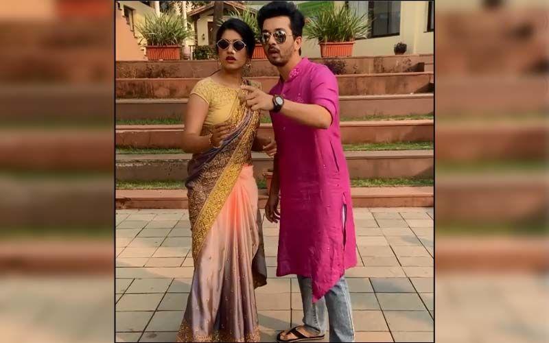 Abhijeet Khandkekar And Rasika Sunil Promote An Upcoming Marathi TV Show 'Karbhari Lai Bhari' In Their Funny Dance Video