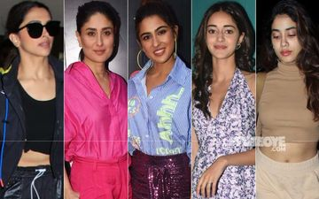 Saturday Just Got Sexier Courtesy Deepika Padukone, Kareena Kapoor Khan, Sara Ali Khan, Ananya Panday And Janhvi Kapoor!