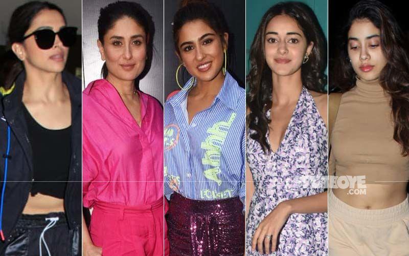 Saturday Just Got Sexier Courtesy Deepika Padukone, Kareena Kapoor Khan, Sara Ali Khan, Ananya Panday And Janhvi Kapoor!