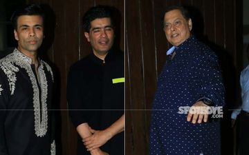 Varun Dhawan And Natasha Dalal's Parents Met Last Night; Karan Johar Joined In – PICS FROM DALAL HOUSE