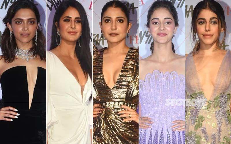 BEST DRESSED & WORST DRESSED At Nykaa Femina Beauty Awards 2020: Deepika Padukone, Katrina Kaif, Anushka Sharma, Ananya Panday Or Alaya F?