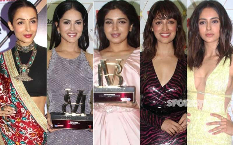 BEST DRESSED & WORST DRESSED At Dadasaheb Phalke Awards And NexBrand's Vision Summit Awards: Malaika Arora, Sunny Leone, Bhumi Pednekar, Yami Gautam Or Rakul Preet?