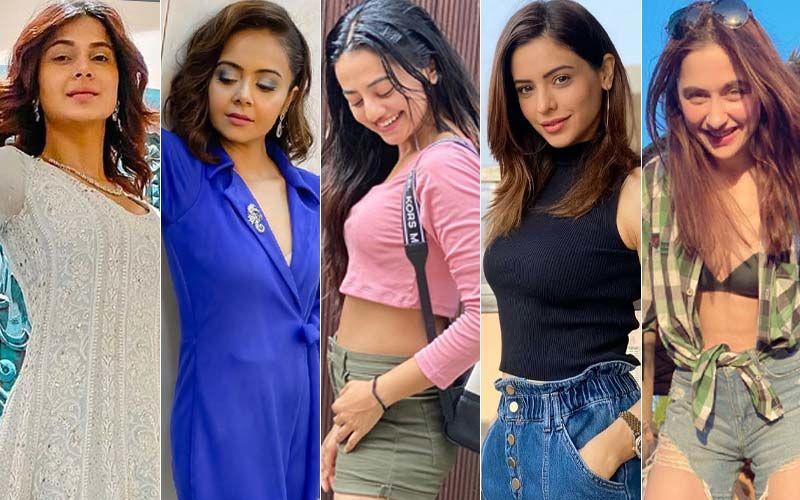 BEST DRESSED & WORST DRESSED Of The Week: Jennifer Winget, Devoleena Bhattacharjee, Helly Shah, Aamna Sharif Or Sanjeeda Shaikh?