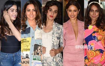 STUNNER OR BUMMER: Janhvi Kapoor, Anita Hassanandani, Taapsee Pannu, Nushrat Bharucha Or Anusha Dandekar?
