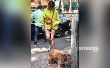 Disha Patani's Hot Shorts Are So Short That They Are Barely Visible - PICS