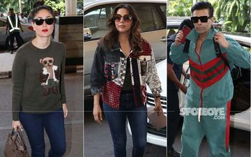 Airport Diaries: Kareena Kapoor, Karan Johar, Gauri Khan, Neha Dhupia, Rahul Khanna And Others Make A Fashion Splash