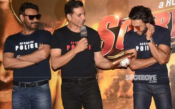 Sooryavanshi Trailer Launch: Ranveer Singh Arrives Fashionably Late, Akshay Kumar-Ajay Devgn Say '40 Mins Rukaya Isne'