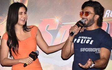 Sooryavanshi Trailer Launch: Katrina Kaif Asks Ranveer Why Doesn't He Use Kay By Katrina Lipstick, His Answer Will Crack You Up
