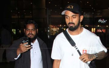 Cricketer KL Rahul Goes All Red And White For His Recent Airport Look - PICS