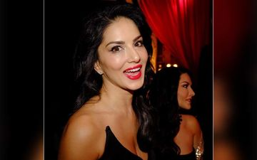 Happy Birthday Sunny Leone: These Pics Prove Red Is The Lady's Go-To Colour For Lipsticks