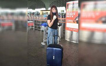 Bigg Boss 13's Mahira Sharma Heads To Delhi To Resume Work Amid COVID-19; Spotted At The Airport