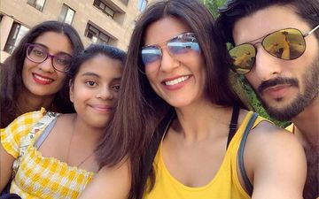 Miss Universe Sushmita Sen's Cutest Moments With Her Daughters - Picture Proofs