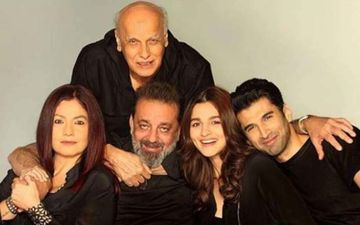 Pooja Bhatt Shares Sadak 2 Behind-The-Scenes Shots With Alia Bhatt, Mahesh Bhatt And Sanjay Dutt As The Movie Starts Rolling
