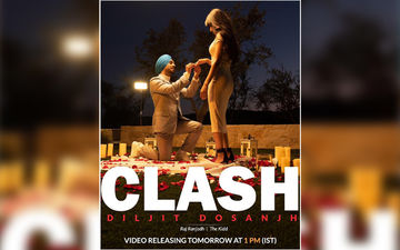 Diljit Dosanjh's New Song CLASH Released; To Be Played Exclusively On 9X Tashan