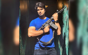 Here's A Glimpse Of Your Favorite Actor Gashmeer Mahajani In Action With A Rifle Flaunting His Biceps