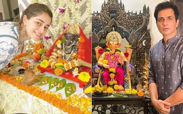 Ganesh Chaturthi 2020: Ananya Panday, Sonu Sood, Aadar Jain Welcome Ganpati Bappa Home, Sushmita Sen Extends Warm Wishes To Fans