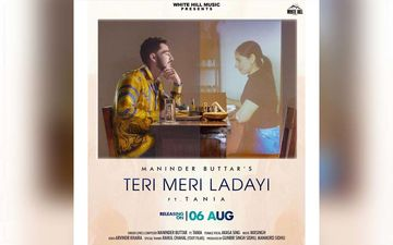 Maninder Buttar Unveils Poster Of His Next Song 'Tere Mere Ladayi'