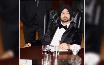 Diljit Dosanjh's New Album G.O.A.T Shines On Times Square Billboard
