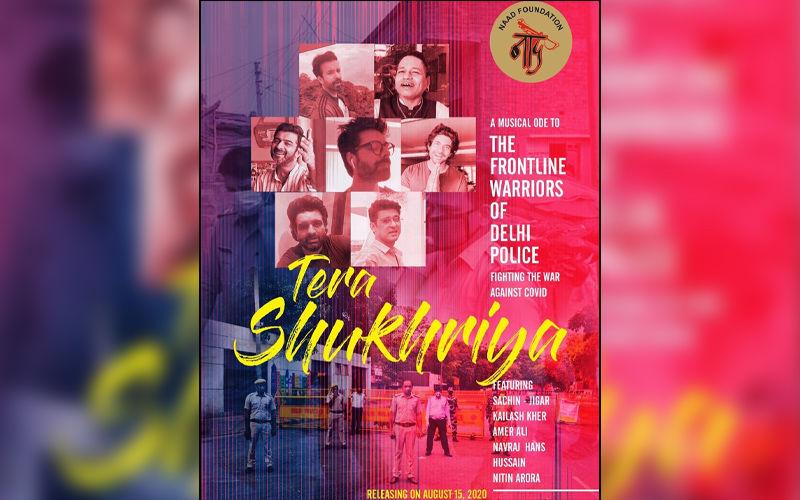 Navraj Hans Shares Poster Of His New Song 'Tera Shukriya'