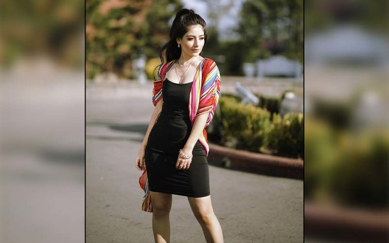 Sufna Actress Tania Has Done Shooting For 'Tere Meri Ladayi' From Canada