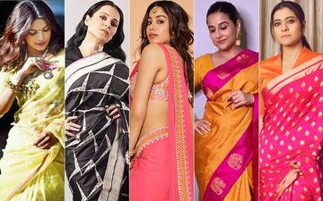 National Handloom Day 2020: Priyanka Chopra, Kangana Ranaut, Janhvi Kapoor, Vidya Balan And Kajol's Most Stunning Shots In Indian Looms
