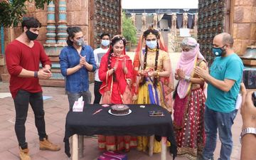 RadhaKrishn's Radha Mallika Singh Celebrates Her 20th Birthday On Sets Of The Show