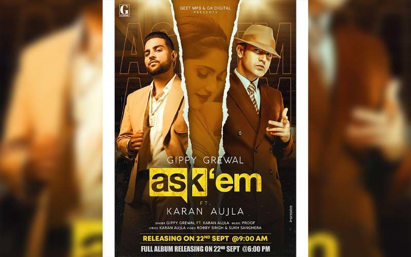 Gippy Grewal Shares Poster Of His Next Song 'Ask'em'; To Release On September 22