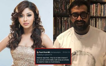 Anurag Kashyap Accused Of Sexual Misconduct: Netizens Question Payal Ghosh's Credibility As Old Tweet Stating 'Nobody Rapes Here' Goes Viral