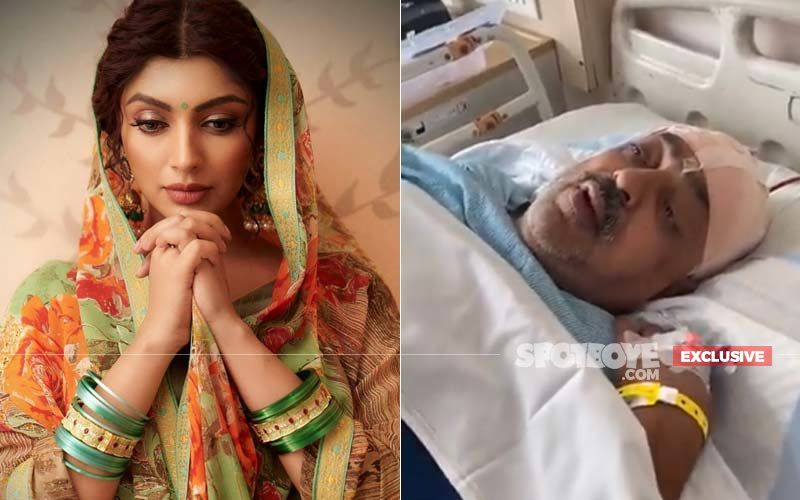 Akanksha Puri's Father Undergoes A Brain Surgery; Actress Says, 'He Is Fighting It With A Smile'- EXCLUSIVE