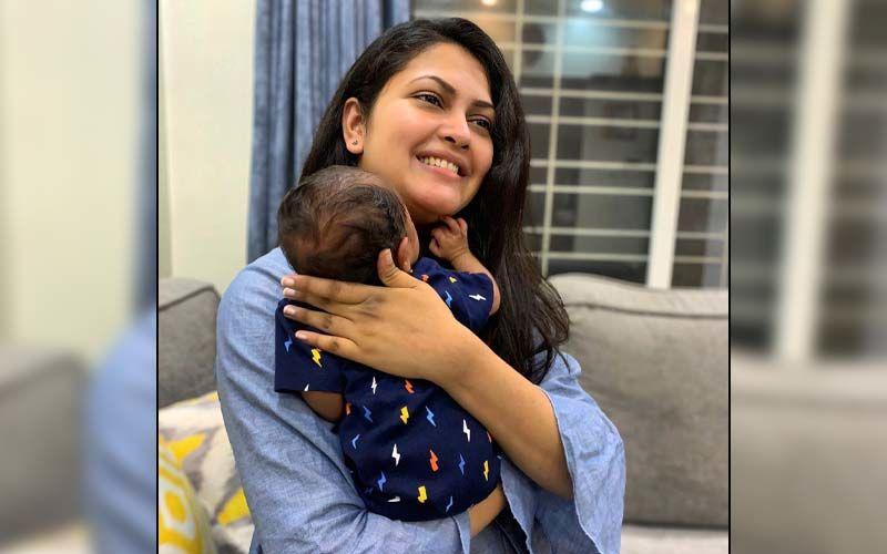 Marathi Singer Priyanka Barve Celebrates Motherhood As Her Little One Turns One Month Old
