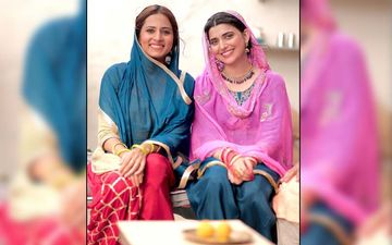 Saunkan Saunkne: Sargun Mehta, Nimrat Khaira Enjoys At Shooting