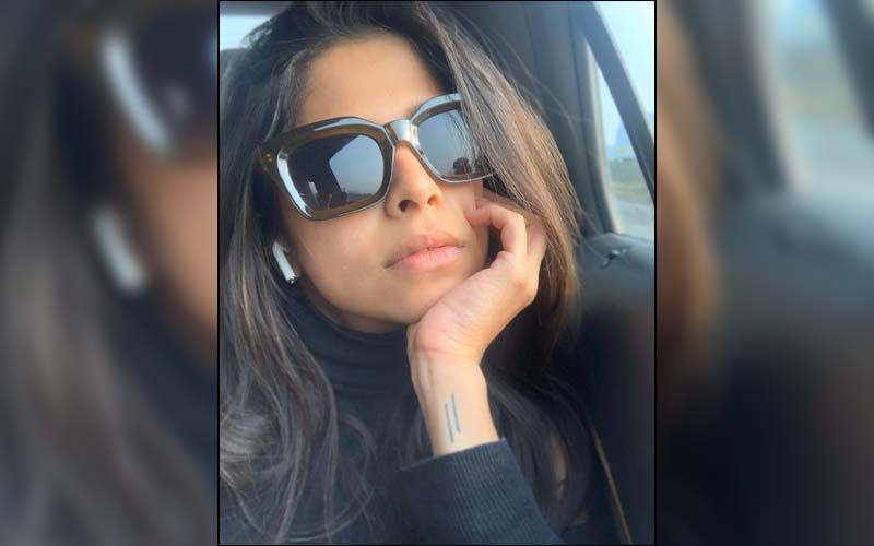 Sai Tamhankar Takes A Break From Her Hectic Schedule To Sync Up With The Beauty Of Nature