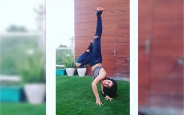 Radhika Madan Gives Major Fitness Goals With Her Home Workout Routine: PICS HERE