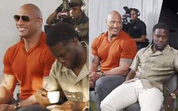 Jumanji The Next Level: Dwayne Johnson Shares Hilarious Video Of Kevin Hart Exploding FART Bombs After Downing Expressos