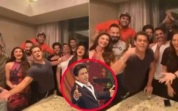 Salman Khan Recreates Shah Rukh Khan's Iconic Pose To Wish Him On His Birthday; Says 'Phone To Utha Leta Mera'