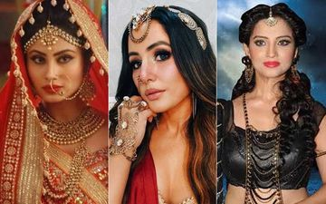 Naagin 5: Hina Khan Looks Stunning As She Shares BTS Pictures While Nailing The Look; OG Naagin Mouni Roy And Adaa Khan Are All Hearts