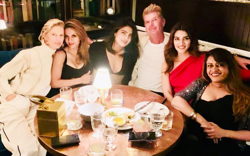 Kriti Sanon Has An Impromptu Outing With Her 'Girl Crush' Priyanka Chopra In New York