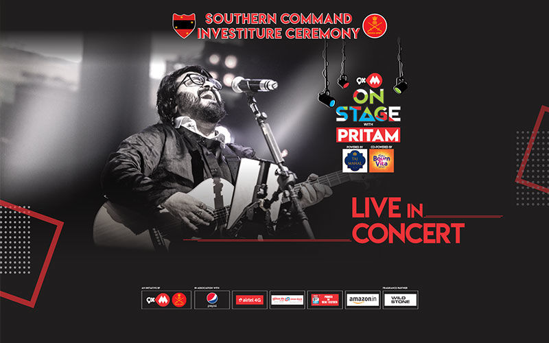 9XM On Stage With Pritam - A Tribute To The Indian Army And Their Families
