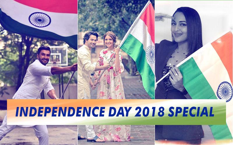 Happy Independence Day 2018: Varun Dhawan, Anushka Sharma, Ranveer Singh, Sonakshi Sinha Celebrate India's Freedom