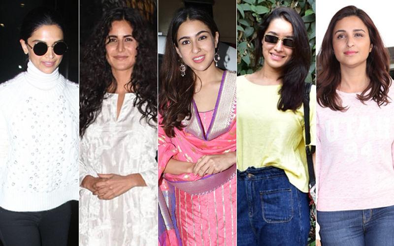 STUNNER OR BUMMER: Katrina Kaif, Deepika Padukone, Sara Ali Khan, Shraddha Kapoor Or Parineeti Chopra?
